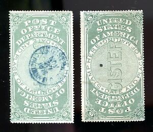 Registry seal  OXF1 pair one used 1874