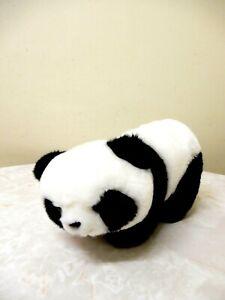 AURORA WORLD SMALL PLUSH PANDA CUB STUFFED ANIMAL 25 CM BLACK/WHITE BNNT