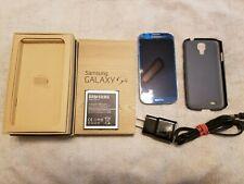 Samsung Galaxy S4 Sgh-i337 Gsm Smartphone 13 Mp Camera - Blue w/Extra