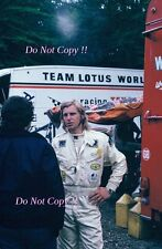 Reine Wissel Gold Leaf Team Lotus F1 Portrait 1971 Photograph
