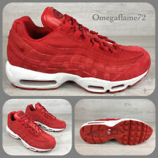 Nike Air Max 95, UK 8, EU 42.5, US 9, 538416-602, Red Leather