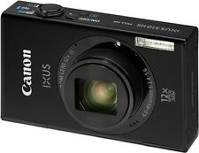 Canon IXUS 510 HS 10.1MP Point and Shoot Camera (Black) with 12x Optical Zoom