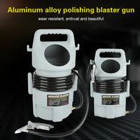 Portable Pneumatic Sand Blaster Kit Sandblasting Gun 15 ft Hose & 50 lb. Hopper
