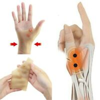 Magnetic Therapy Hand Thumb Support Gloves Silicone Arthritis Pressure Corrector