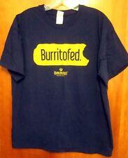 PANCHEROS MEXICAN GRILL tee XL restaurant Burritofed chain T shirt Tex Mex