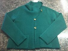 Women's Sz. XL Fenn Wright Manson Green Jacket Green EUC!