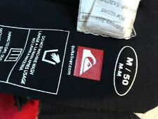 Quicksilver Men's Short Wetsuit Long Sleeve Pull Cord Neoprene Stretch M