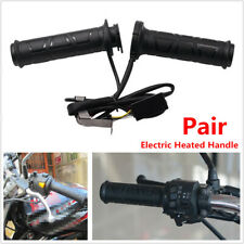 2x Upgrade Adjustable Motorcycle Bikes Heated Handle bar Motorbike Heating Grips
