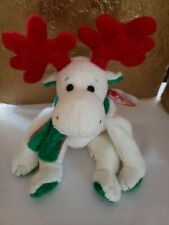 Ty Beanie Baby - MOOSLETOE the Moose (6 Inch) MINT with MINT TAGS Stuffed Toy
