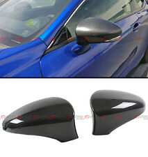 FOR 2013-17 LEXUS IS200t IS250 IS350 ADD-ON CARBON FIBER SIDE MIRROR COVER CAPS