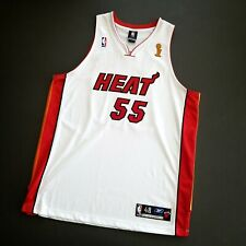 100% Authentic Jason William Reebok Miami Heat Finals Jersey Size 48 Mens