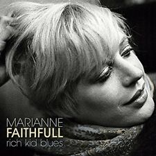 MARIANNE FAITHFULL - RICH KID BLUES (SILVER VINYL)   VINYL LP NEUF