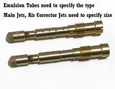 Emulsion Tube Main Jet Air Corrector Jet kit fits Weber DCOE etc Carburetor 1set