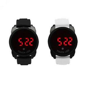 Orologio Uomo Donna SNEAKERS Digitale XL Touch Screen LED Unisex Alarm Silicone