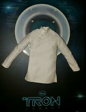 1/6 Hot Toys MMS144 Kevin Flynn Tron White Long-Sleeve Shirt **US Seller**