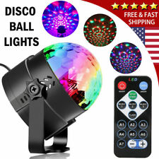 Party Disco Lights Ball Sound Activated Strobe Led DJ Bulb Dance Lamp Xmas Decor