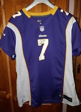 Nfl Vikings Signed Christian Ponder Match Jersey