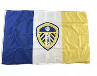 LEEDS UNITED FLAG PERFECT FOR MATCHDAYS GIFT FOR KIDS & ADULTS LARGE 5FT x 3FT!