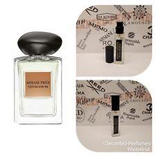 Armani Prive Vetiver D'Hiver - 17ml Extract oil based Eau de Parfum SPRAY