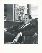 1970's Vintage Photograph Richard Nixon by Philippe Halsman