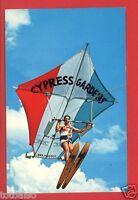 CYPRESS GARDENS FLORIDA FL FLYING KITE MAN   POSTCARD