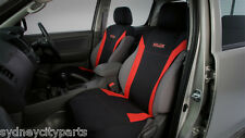 TOYOTA HILUX SEAT COVERS FRONT NEOPRENE VEST TYPE 2010-2013 WORKMATE SR AUTO