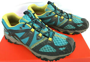 Merrell Grassbow Air Low J24376 Mint Cushioned Trail Hiking Shoes Women's 9.5