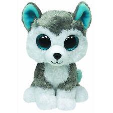TY Beanie Boos - SLUSH  the Husky (Glitter Eyes) (Medium - 9 inch) - MWMTs Boo