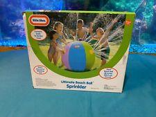 Little Tikes Ultimate Beach Ball Sprinkler New