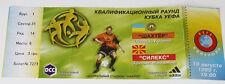 Ticket for collectors EC Shakhtar Donetzk Ukraine - Sileks Kratovo Macedonia