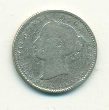 Newfoundland 10 cents 1873 Good