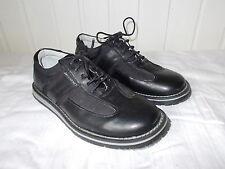 Chaussures à lacets cuir noir VUARNET 40 semelle caoutchouc