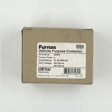Siemens 42BF35AJ Definite Purpose Contactor 3 Pole 24VAC 30FLA 40RES