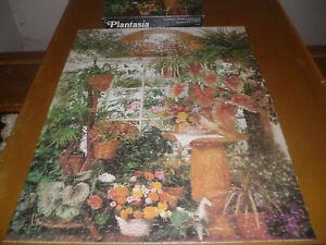 "SPRINGBOK 500 piece puzzle, ""Plantasia"", complete as shown"