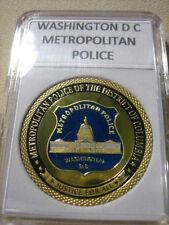 WASHINGTON DC METROPOLITAN Police Challenge Coin
