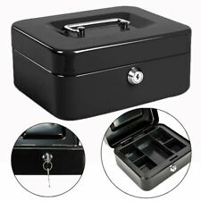 Security Box Fire Proof Lock Safe Storage Cash Money Gun Jewelry Portable Safety