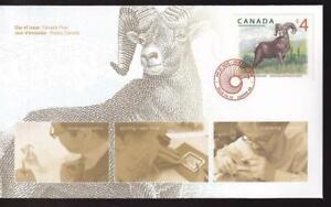 Canada FDC 2018 Rocky Mountain Bighorn Sheep $4, sc#3129