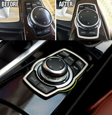 FIT FOR BMW X1 X3 X4 X5 X6 INTERIOR CHROME MATTE SWITCH BUTTONS COVER TRIM BEZEL