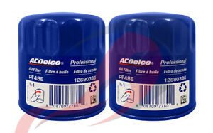 Genuine GM ACDelco Engine Oil Filter PF48E PF48F 12690386 19383838 Set Of 2