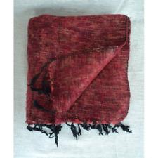 Himalayan Yak Wool Maroon Shawl from Everest