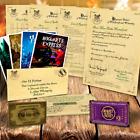 Harry Potter Personalizado Aceptación Carta Hogwarts Navidad Regalo De Navidad