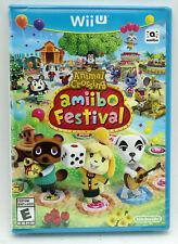 Animal Crossing Amiibo Festival NTSC WiiU Wii U Factory Sealed