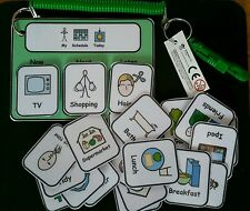 3 Step Sequencing Keyring - Now/Next/Later- ASD/Autism/ADHD/SEN/Visuals/Autism