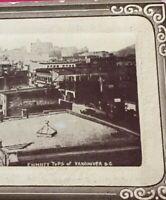 Postcard, Chimney Tops Of Vancouver B.C. Canada Vintage P38