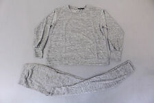 boohoo Women's Maternity Lounge Sweat & Jogger Set SV3 Gray Size S/M NWT