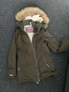womens superdry parka jacket