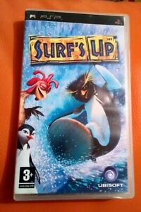 SONY PSP GAME SURF'S UP COMPLETE NICE CONDITION UBISOFT 3+ UNLOCK MOVIE CLIPS