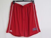 USA Armed Forces Red Men's Practice Shorts Adidas Climacool