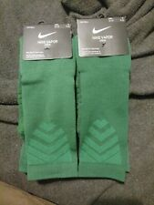 2x Nike VAPOR Crew Football Soccer Socks Green Men's XL 12-15.   SX5698