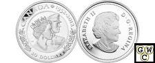 2012Queen Elizabeth II & Prince Philip Double-Effigy $20 Silver.9999(12898)OOAK
